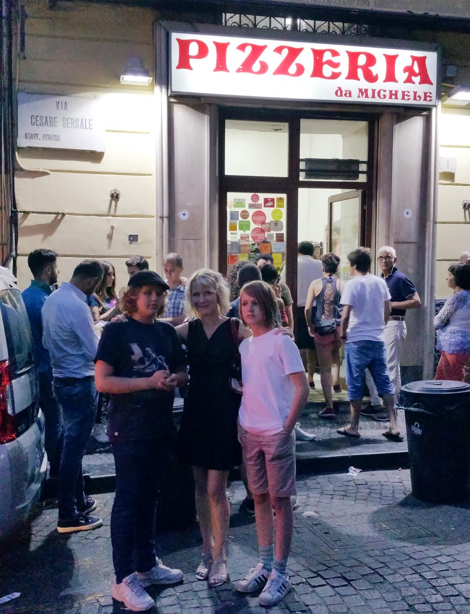 Pizzan synnyinsijoilla Napolissa